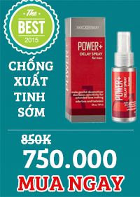 Chai xịt Power +